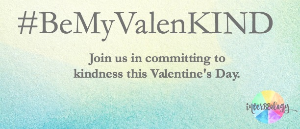 Join us in committing to kindness this Valentine's Day. #BeMyValenKIND #kindness